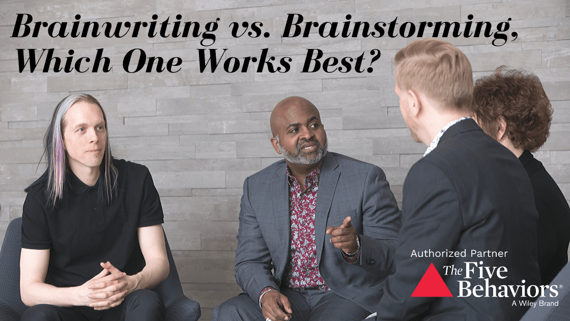 CMBC Blog: Brainwriting vs. Brainstorming, Which One Works Best? | Change My Business Coaching blog