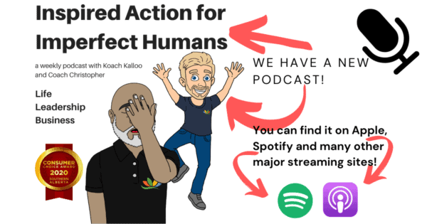 iImage of Inspired Action for Imperfect Humans podcast